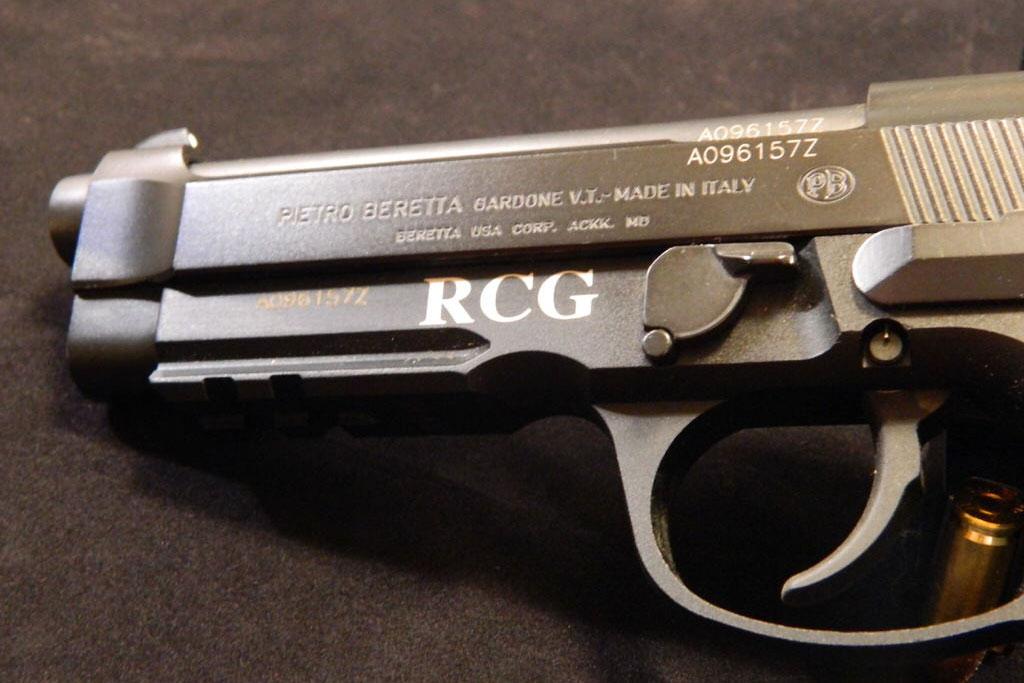 Laser Engraved Firearm