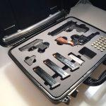 Silver 7 - Custom Gun Case Insert