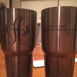 Silver 7 - Custom Laser Marking - Yetti Cups