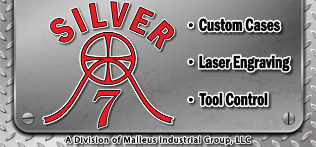 Silver 7 - Custom Cases, Laser Engraving, Tool Control